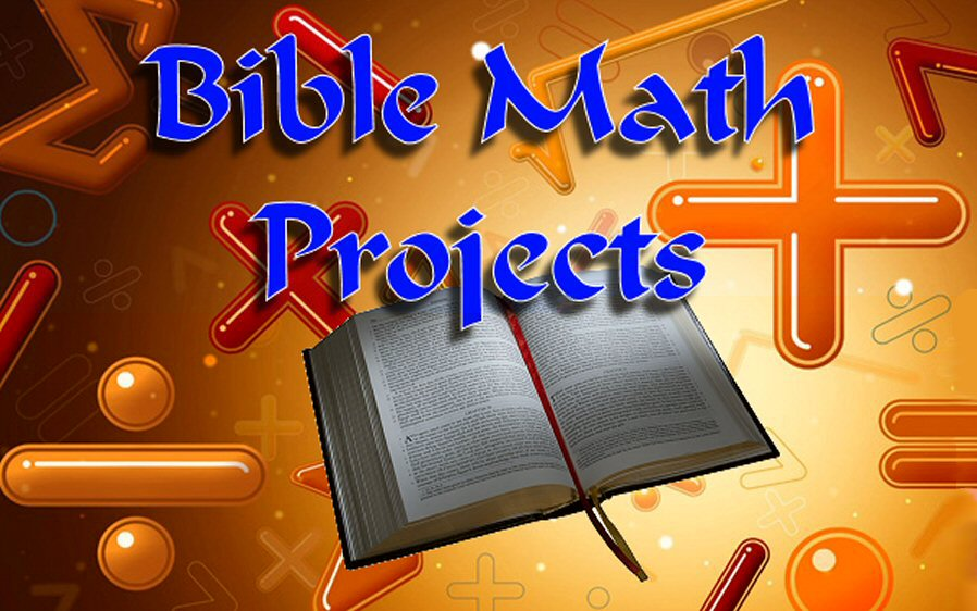 Bible math Projects Lesson Plans